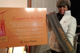 "Veuve Clicquot: ""Clicquot in the Snow"""