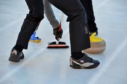 Curling Demonstration with SFBACC