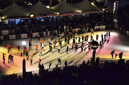Flash Mob On Ice