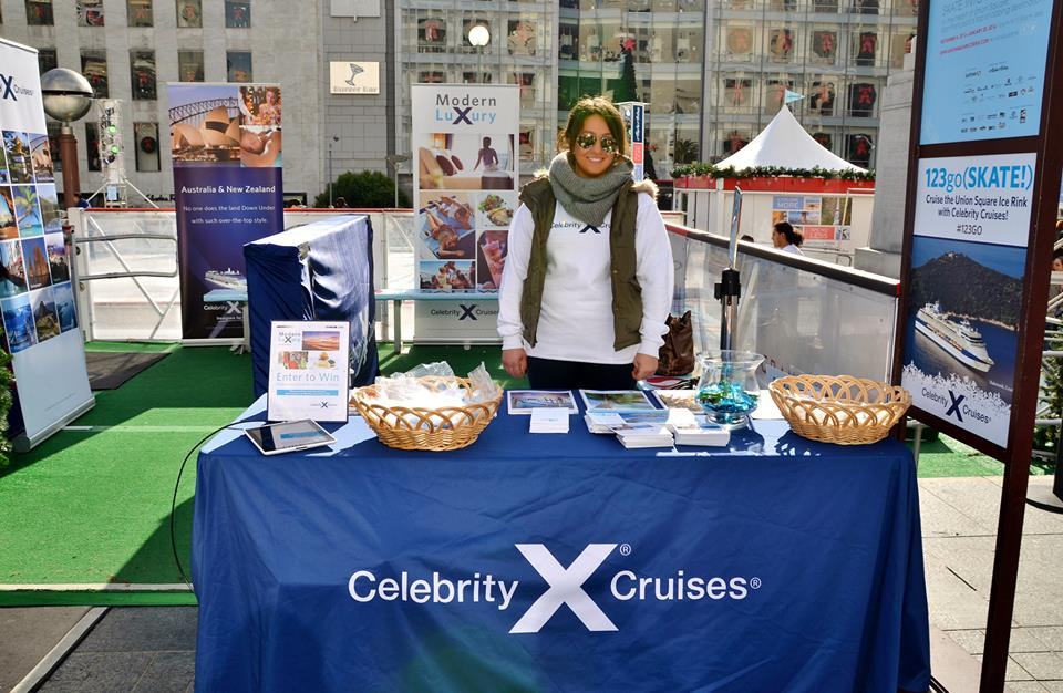 Celebrity Cruises Takes Over the Rink!