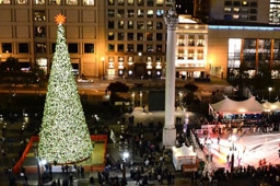 Macy's Tree Lighting 2011