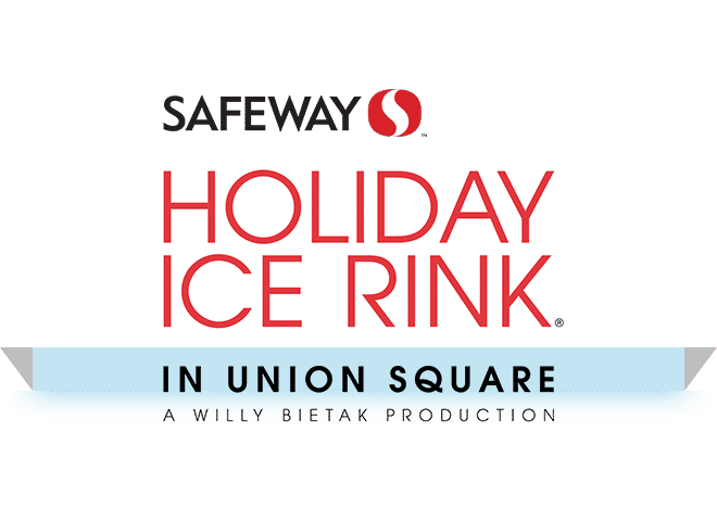 Safeway Holiday Ice Rink in Union Square logo